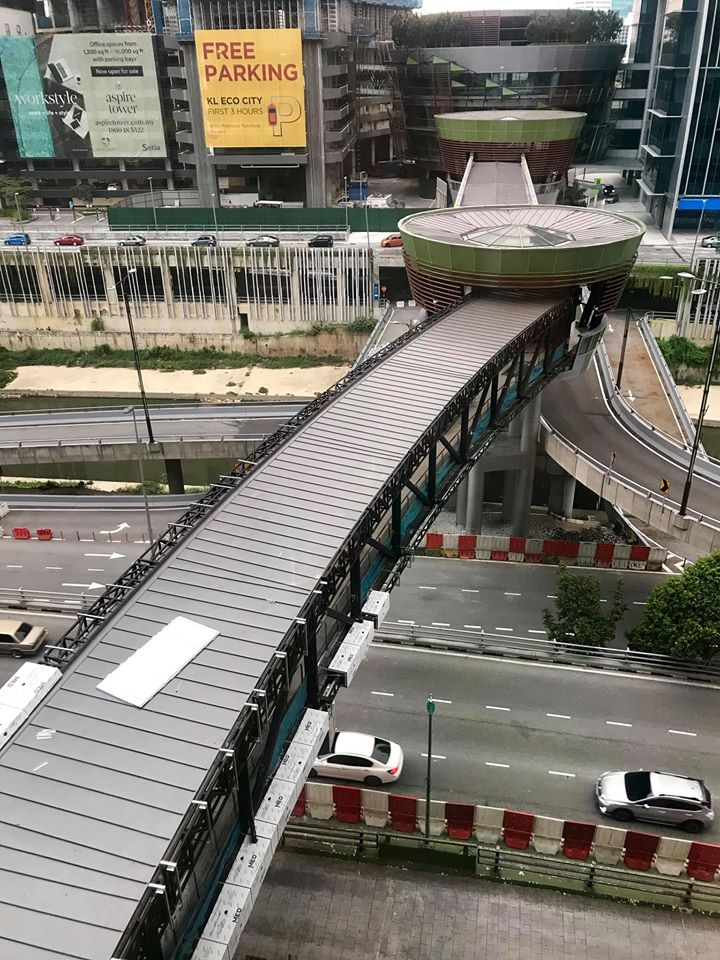 Image from KL Eco City - Malaysia/Facebook