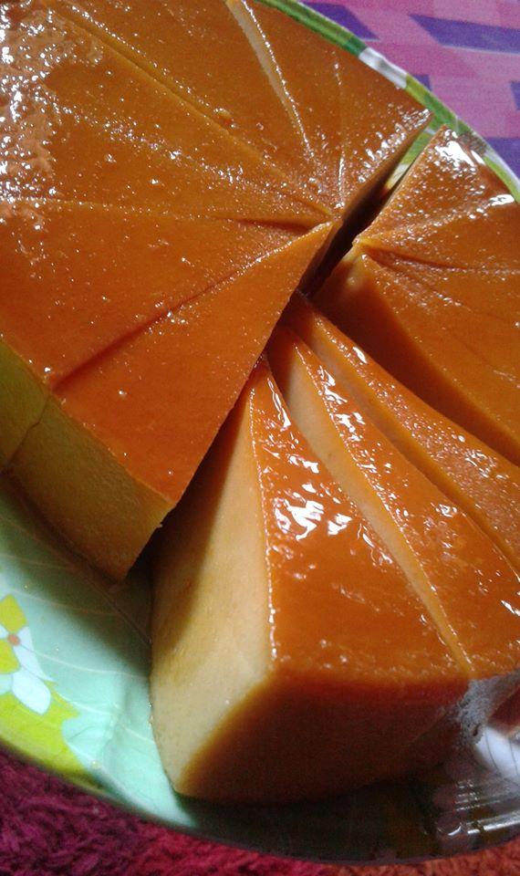 Image via Facebook Qaseh Dhia Resepi Puding Roti Karamel Mudah