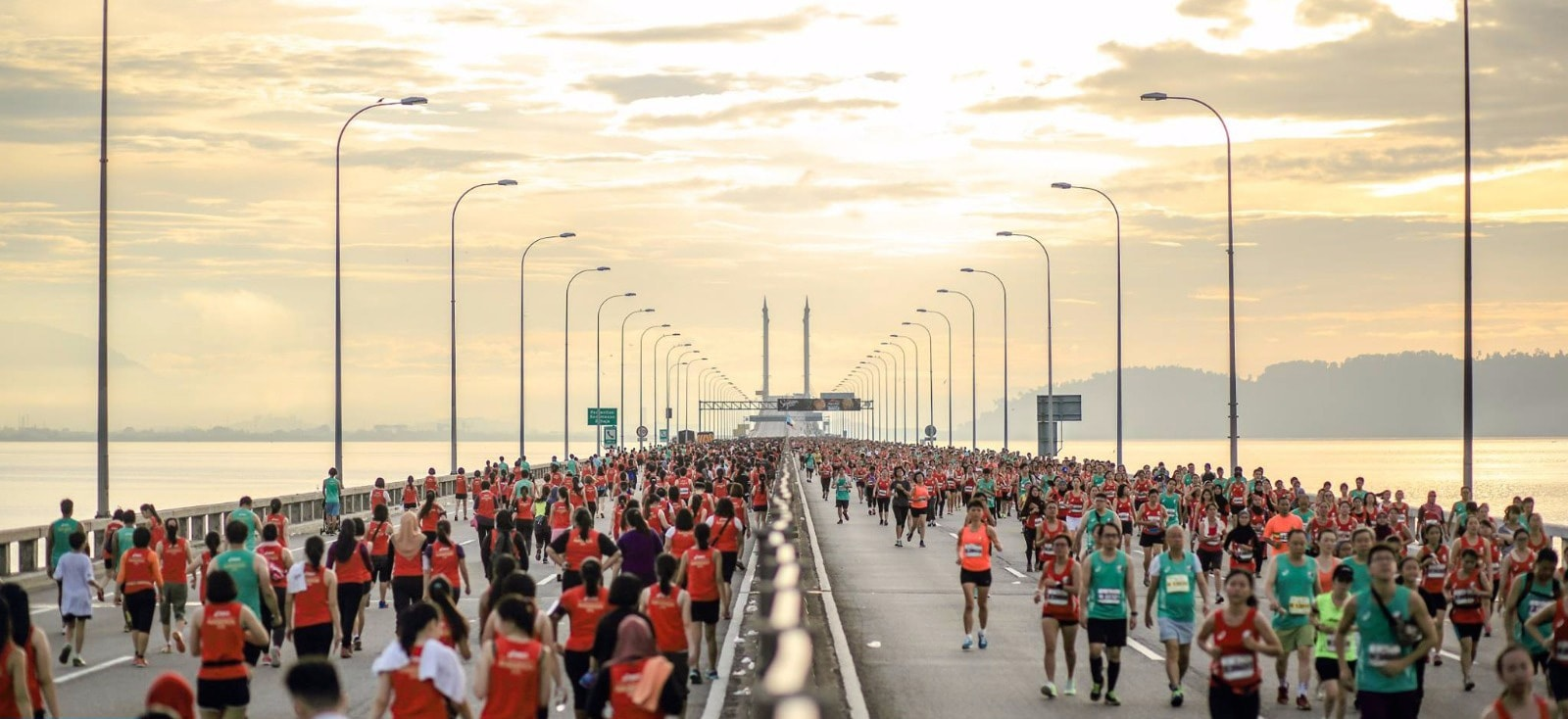 Image from Penang Bridge International Marathon