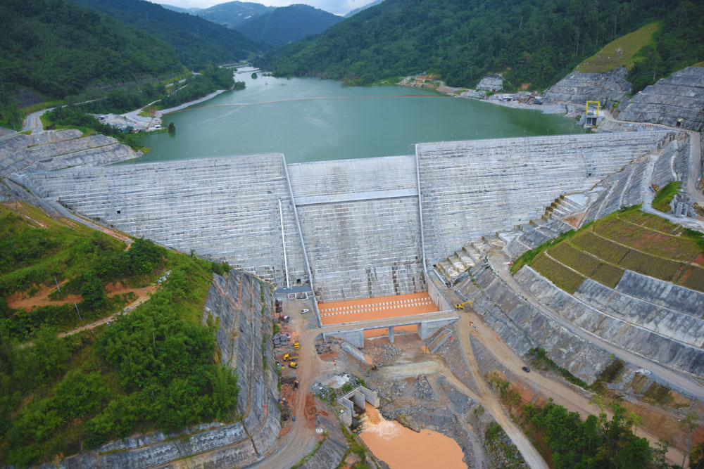 The Ulu Jelai Hydroelectric Project in Cameron Highlands.