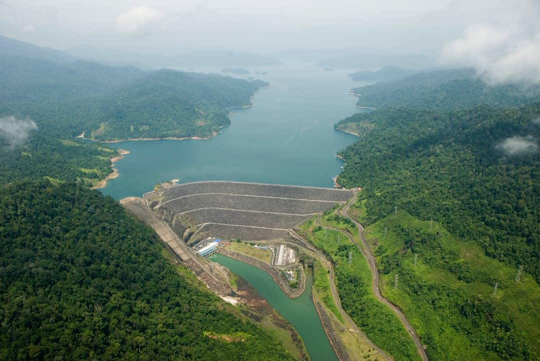 Kenyir Dam, one of the hydroelectric dams owned by TNB.