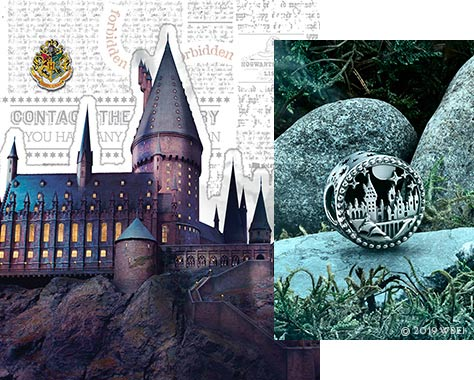 The Hogwarts School of Witchcraft and Wizardry charm.