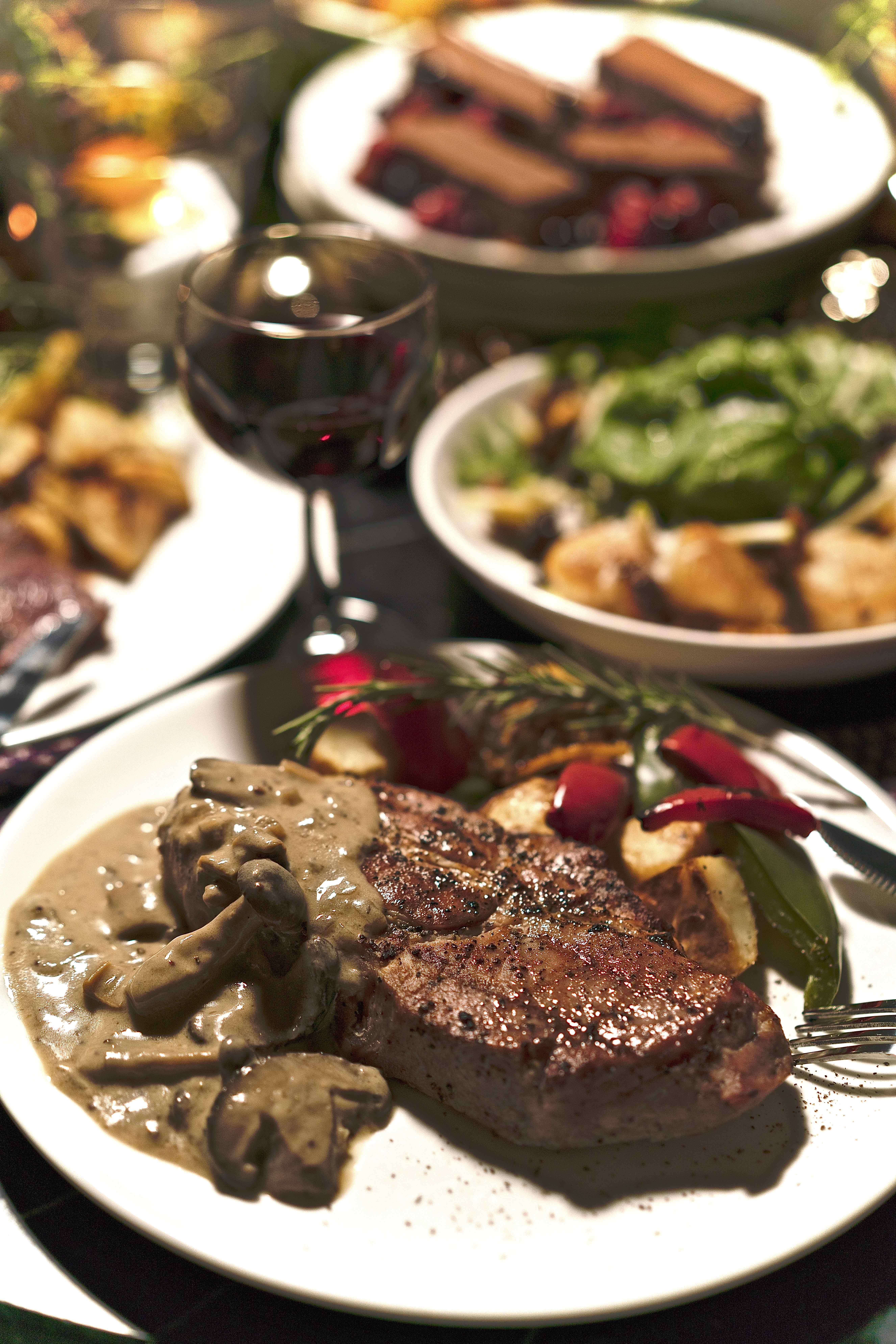 Olive-Fed Pork Collar Steak