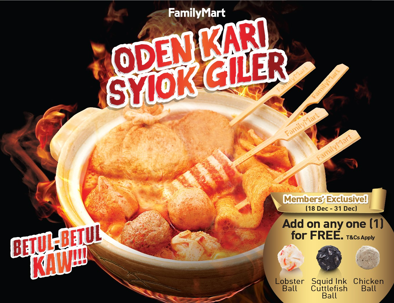 Image via Facebook FamilyMart Kuah Kari Oden Syiok Giler Baru