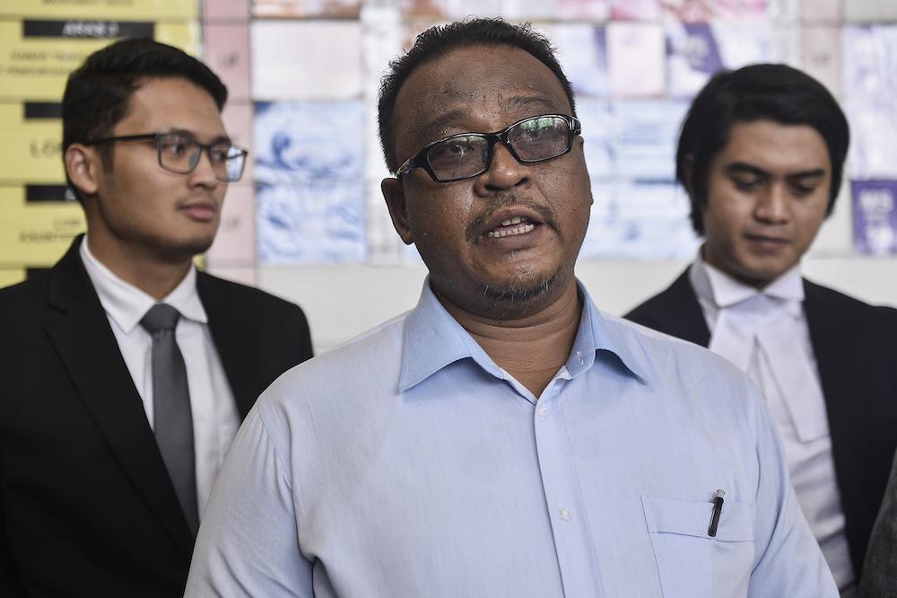 Lawyer Mohd Khairul Azam Abdul Aziz.