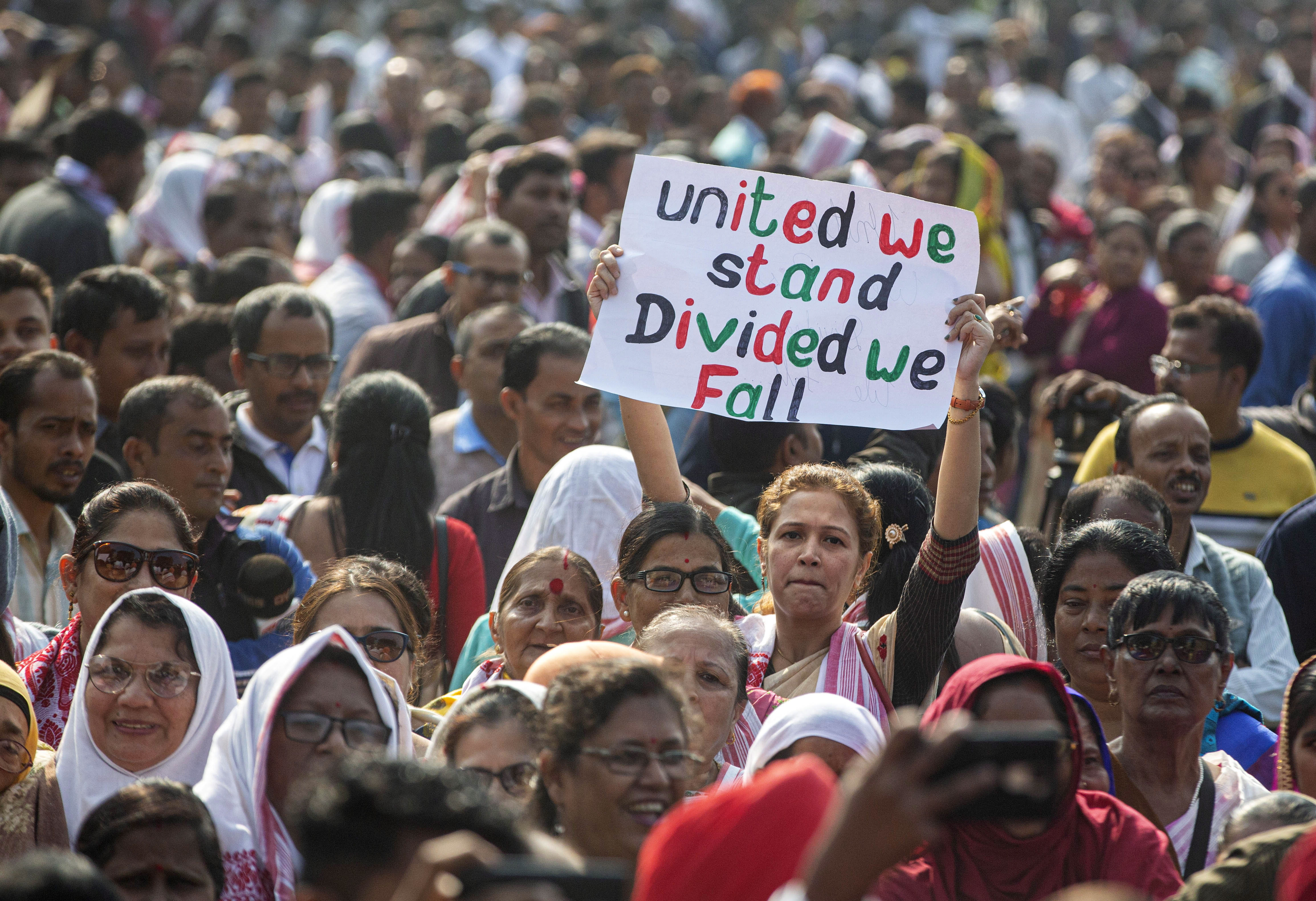 India's new citizenship law has sparked massive protests across the country.