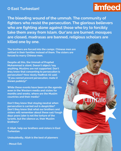 Image from Twitter @mesutozil1088