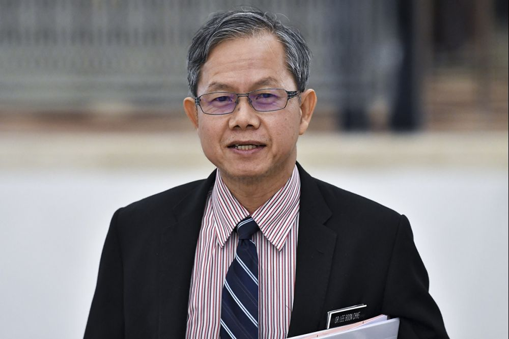 Deputy Health Minister Dr Lee Boon Chye.