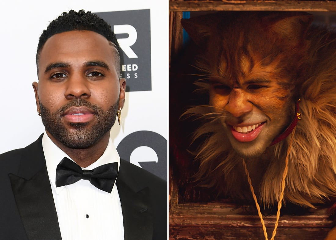 Jason Derulo is Rum Tum Tugger, often portrayed as a rock star who loves the limelight and flirts with all the girls.