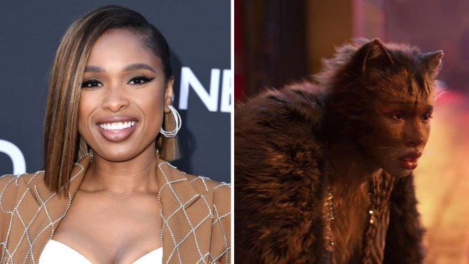 Jennifer Hudson plays Grizabella, a lonely outcast who constantly seeks acceptance from the Jellicle cats.