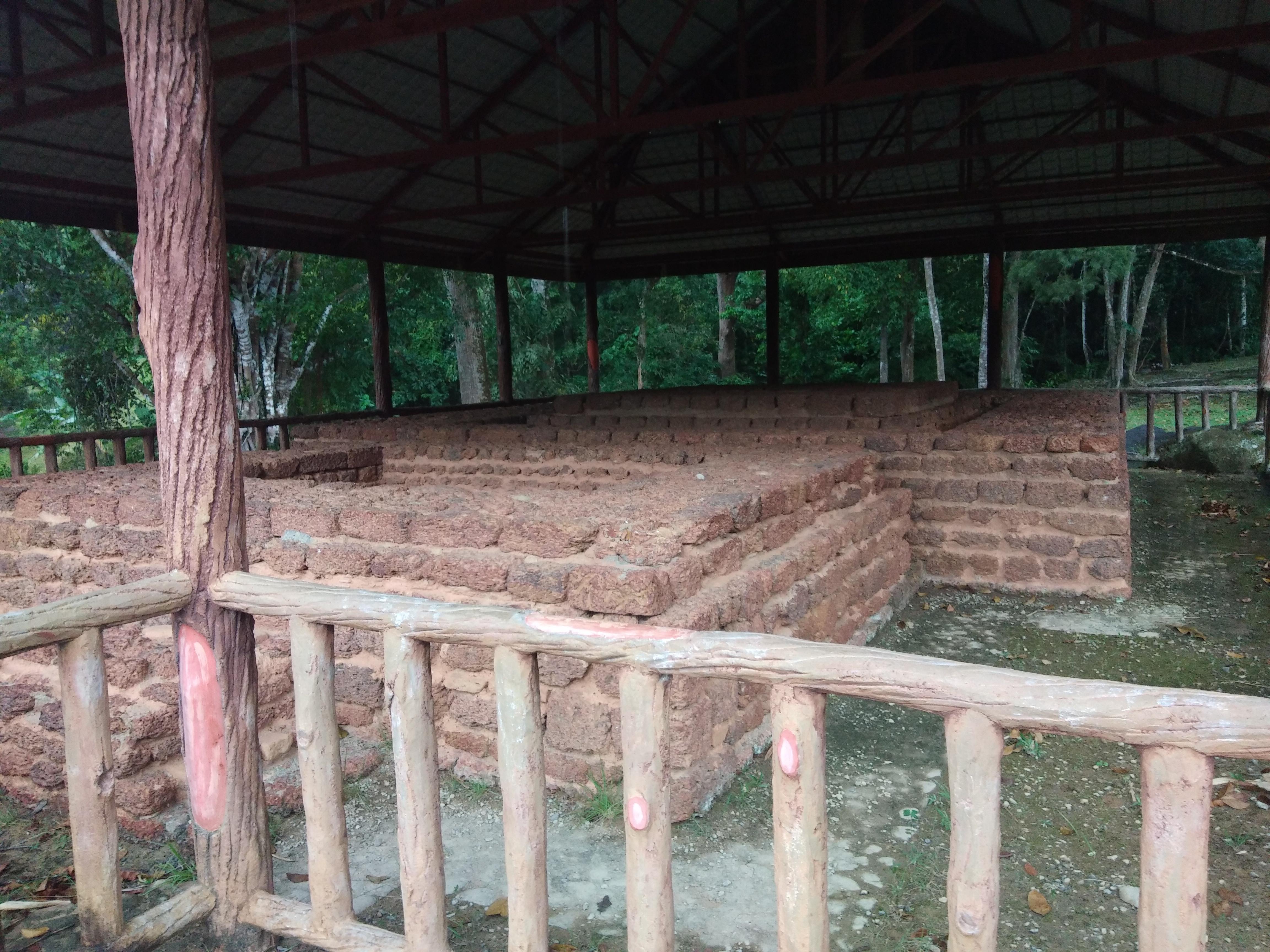 Salah satu candi di Muzium Arkeologi Lembah Bujang