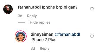 Image from Instagram @dinnyaiman