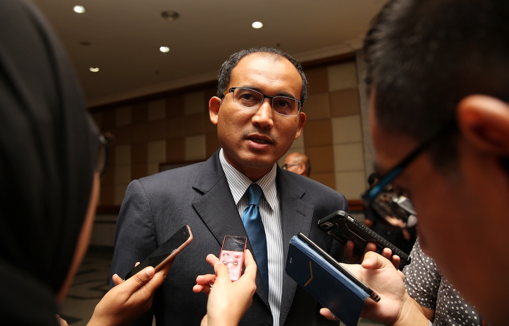 Immigration Department director-general Khairul Dzaimee Daud.