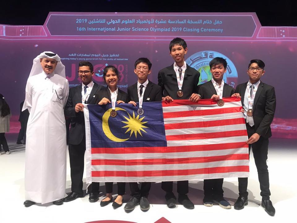 Image from Malaysian Junior Science Olympiad/Facebook