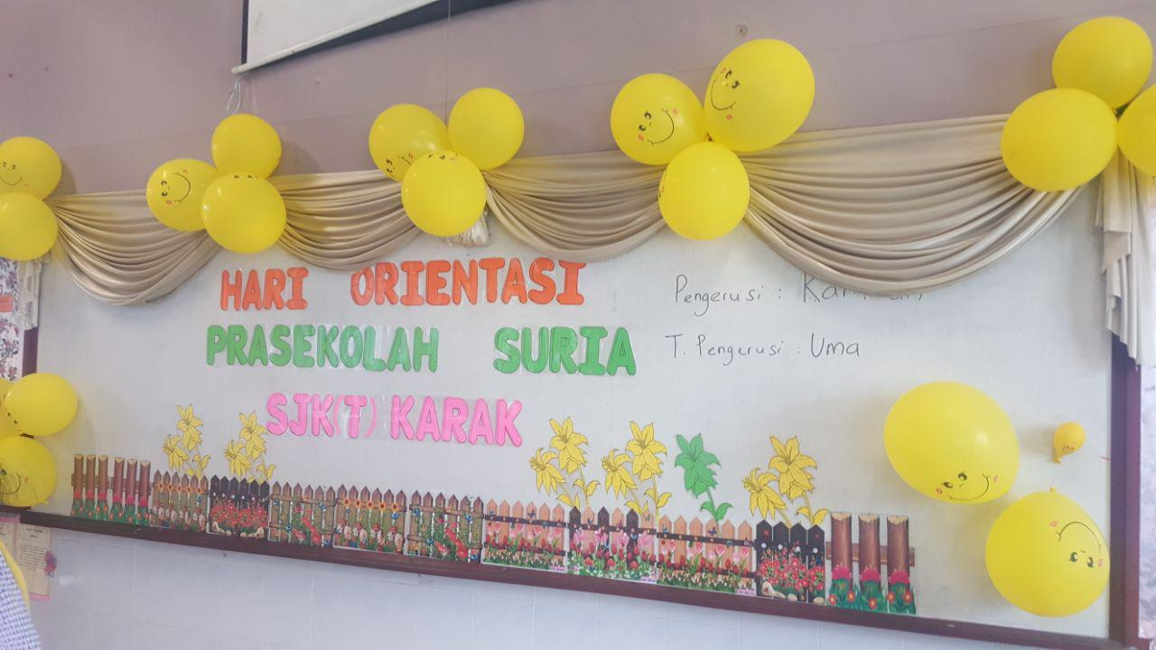 Orientation Day at SJKT Karak.