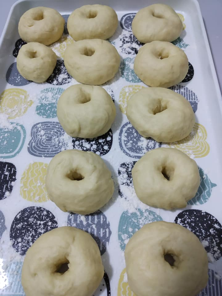 Image via Facebook Shima Chym Resepi Donut Gebu Gebas