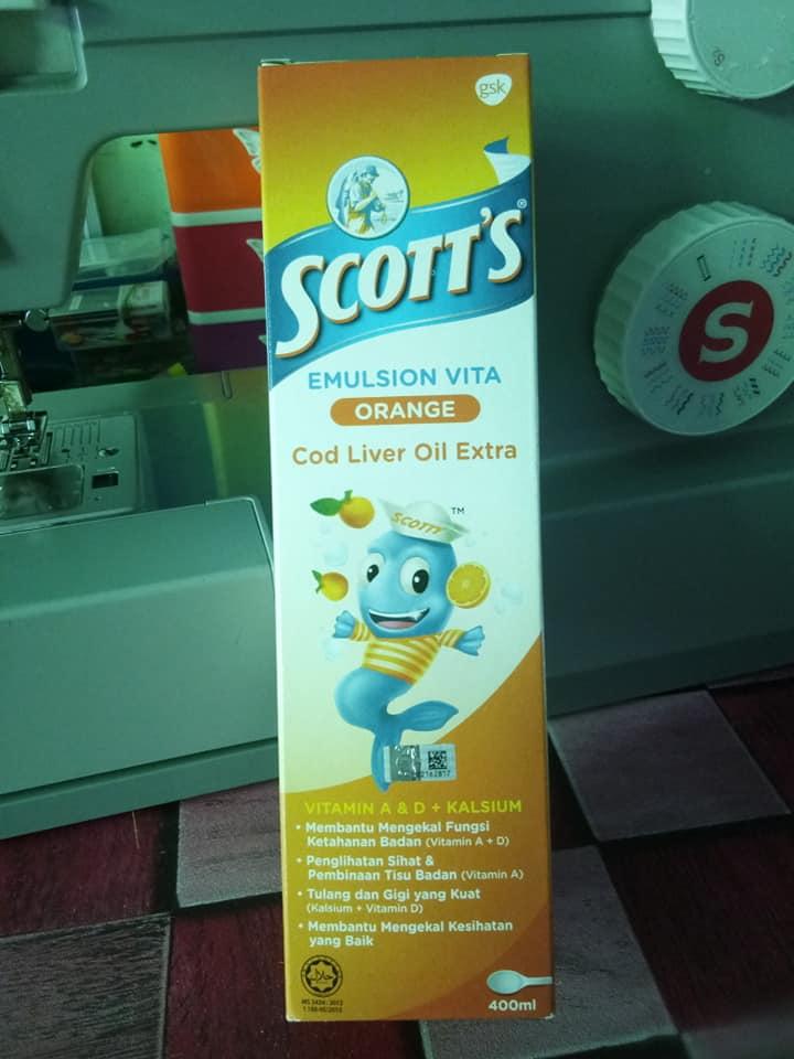 Scott's Emulsion.