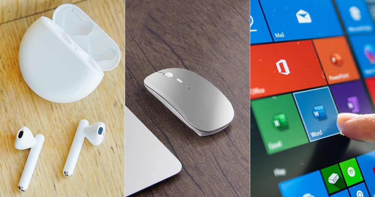 HUAWEI FreeBuds 3, HUAWEI Bluetooth Mouse, and Microsoft Office 365.