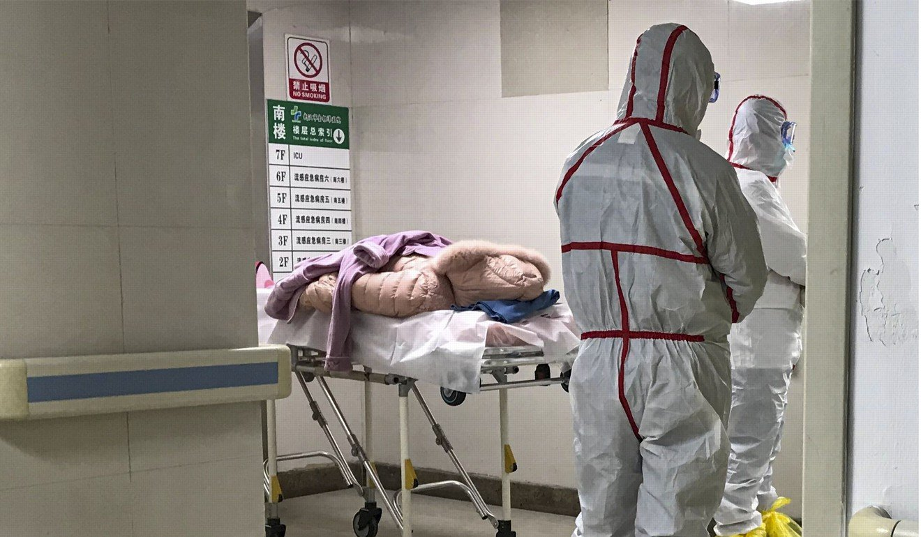 Some of the patients infected with the virus in China were treated in Jinyintan Hospital in Wuhan.