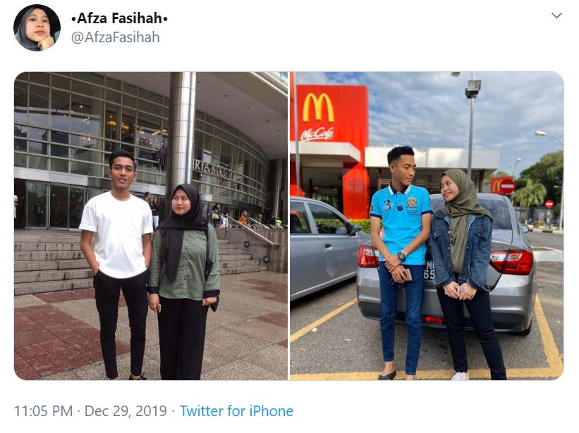 Image from Twitter @AfzaFasihah