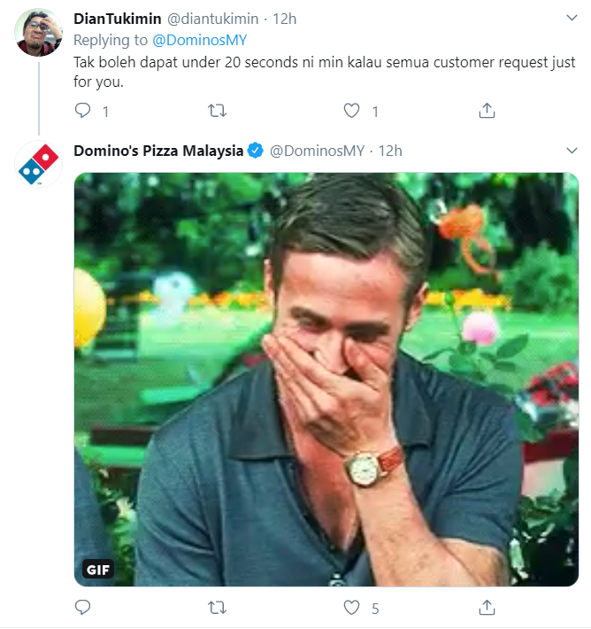 Image from Twitter @DominosMY