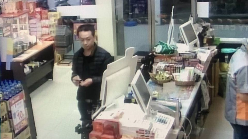 Lin, the suspect in the Malaysian woman's murder.