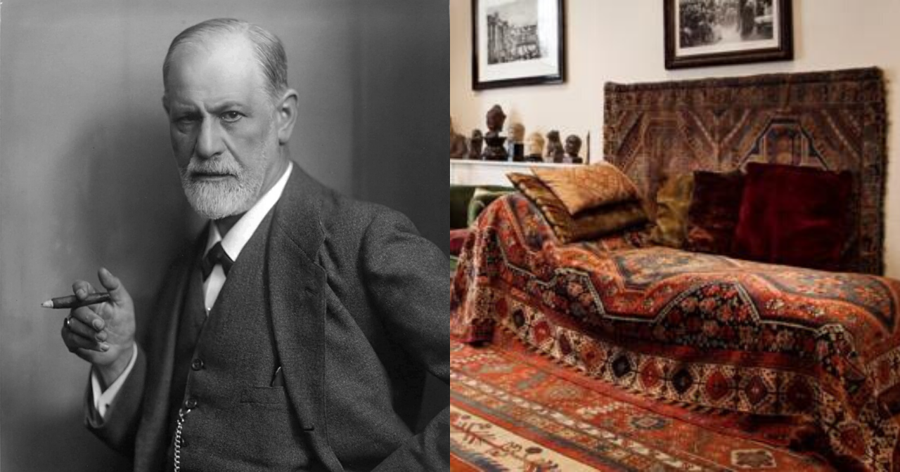 It all began with Sigmund Freud and his iconic couch.