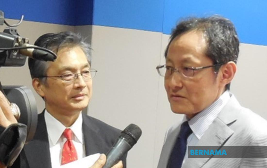 Fukawa Kensuke (right) and Hiroshi Oka.