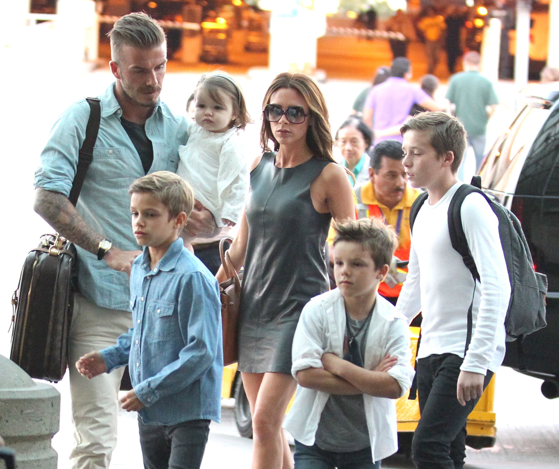 Tearful Goodbye David Beckhams Emotional Farewell