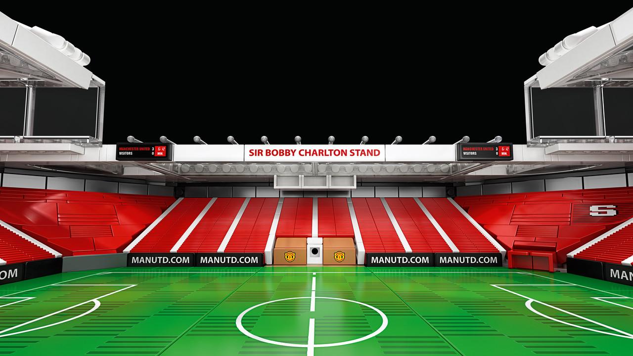 Sir Bobby Charlton stand.