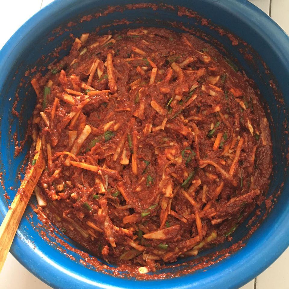 Image via Facebook Nur Shahira Samsuri Resepi Kimchi Mudah