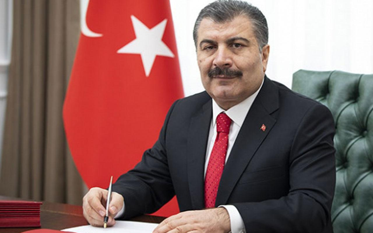 Menteri Kesihatan, Fahrettin Koca.