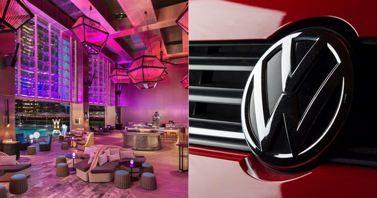 Image from W Hotels Worldwide & Volkswagen | Edited by SAYS