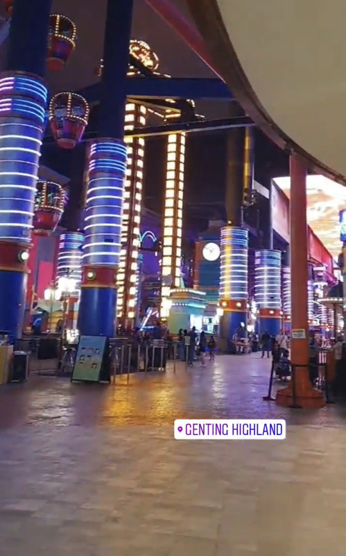 A public Instagram Story posted today, 6 February, showed that Skytropolis Indoor Theme Park was not crowded.