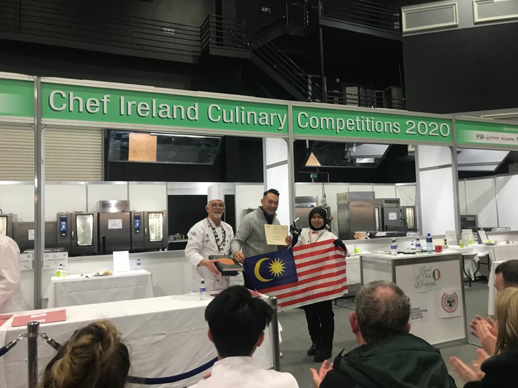 Malaysian chef wins chef ireland culinary competitions 2020