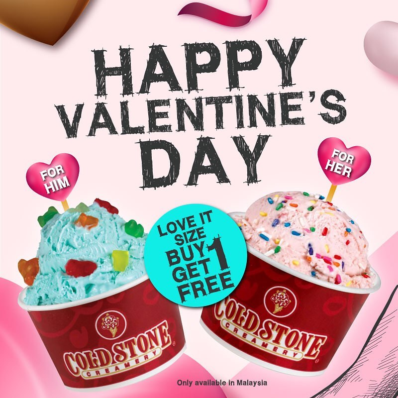 Image from Cold Stone Creamery Malaysia/Facebook