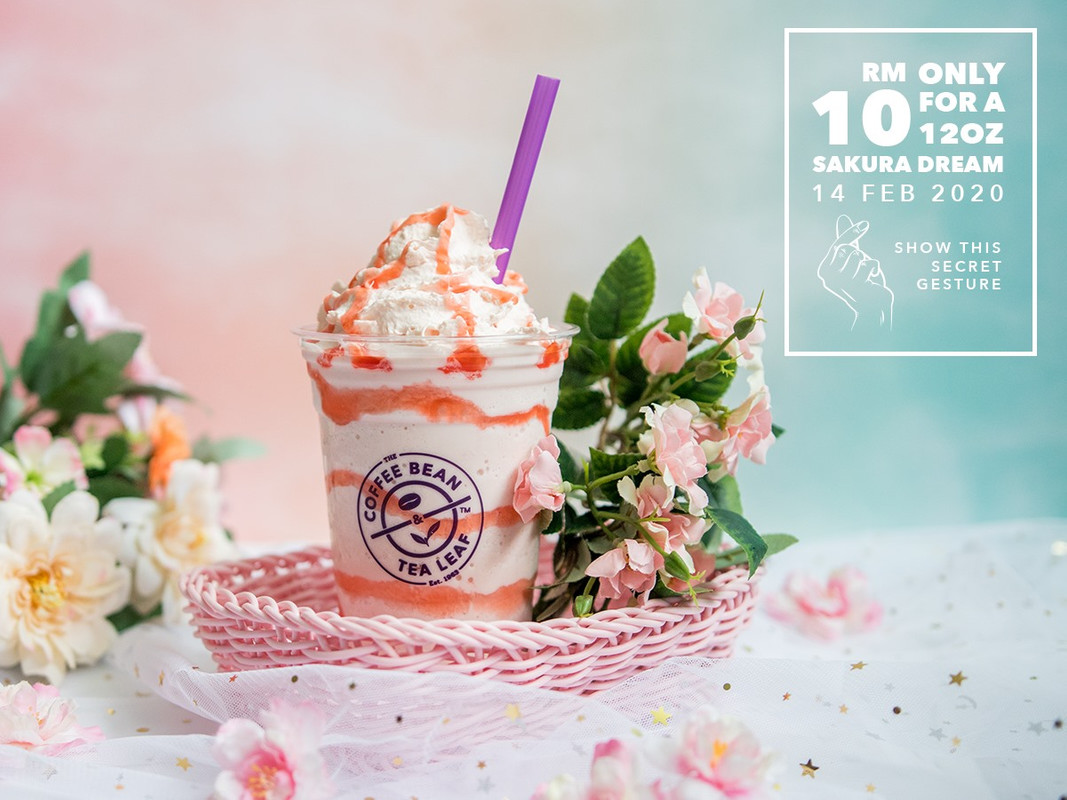 Image from The Coffee Bean & Tea Leaf Malaysia/Facebook