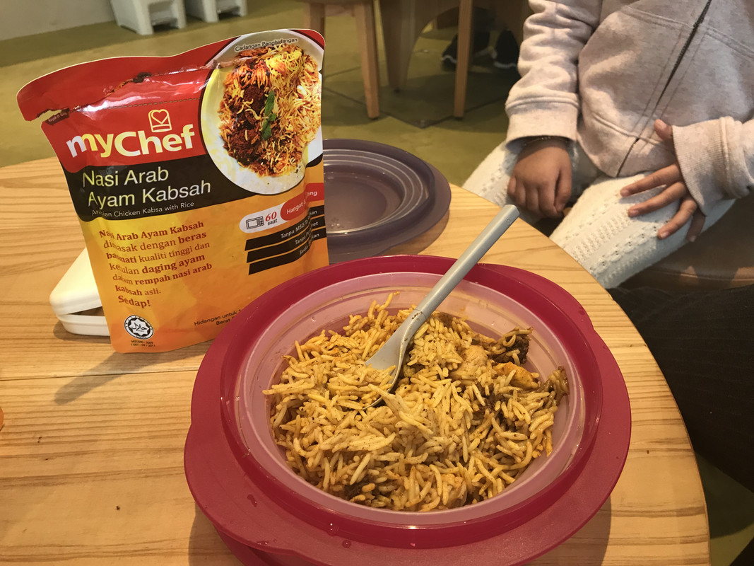 MyChef's ready-to-eat halal meal.