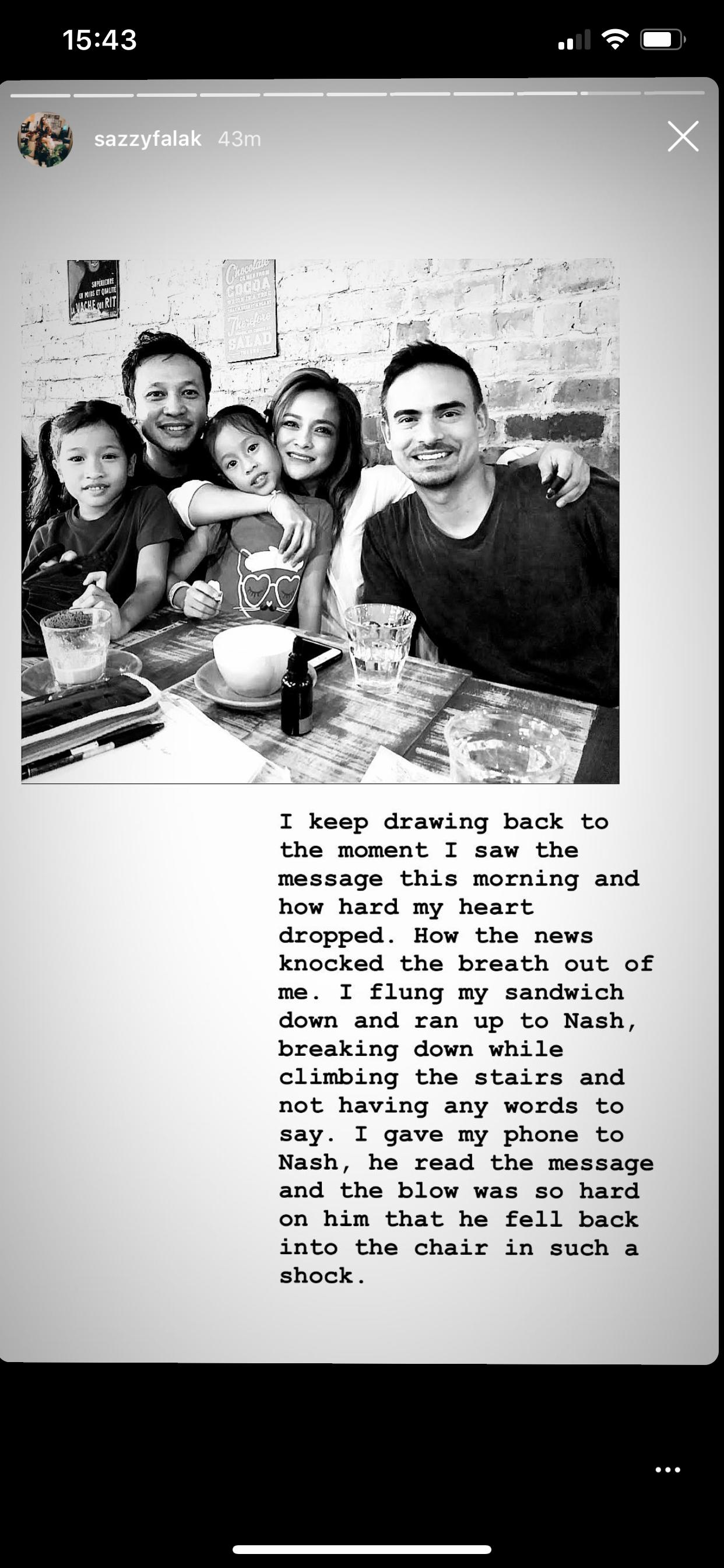 Image from Instagram @sazzyfalak