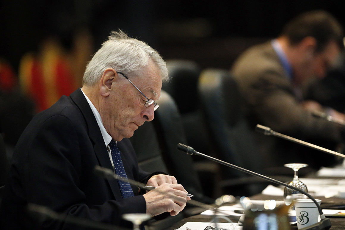 International Olympic Committee member Dick Pound.