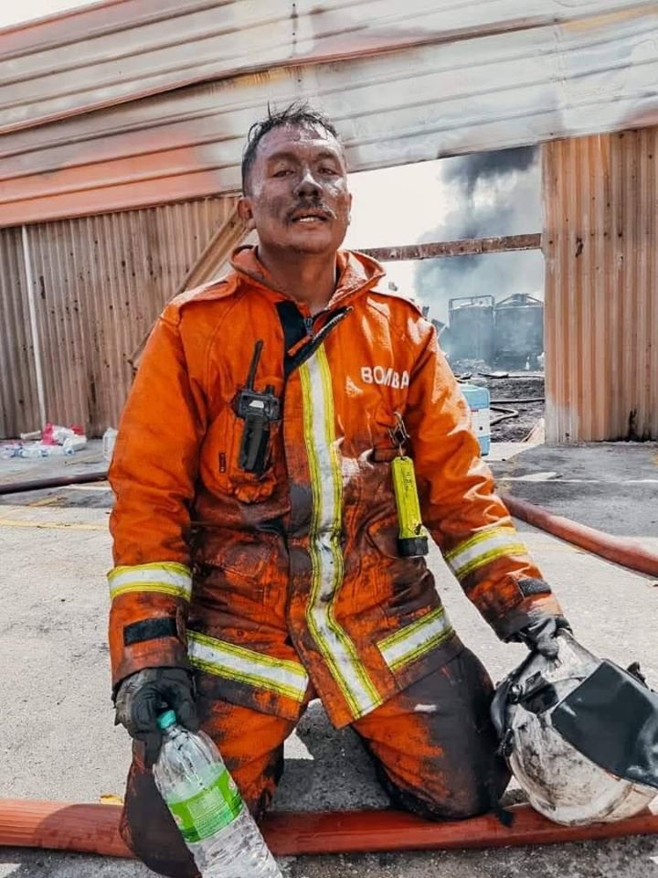 Image from Skudai Fire And Rescue Department/Facebook