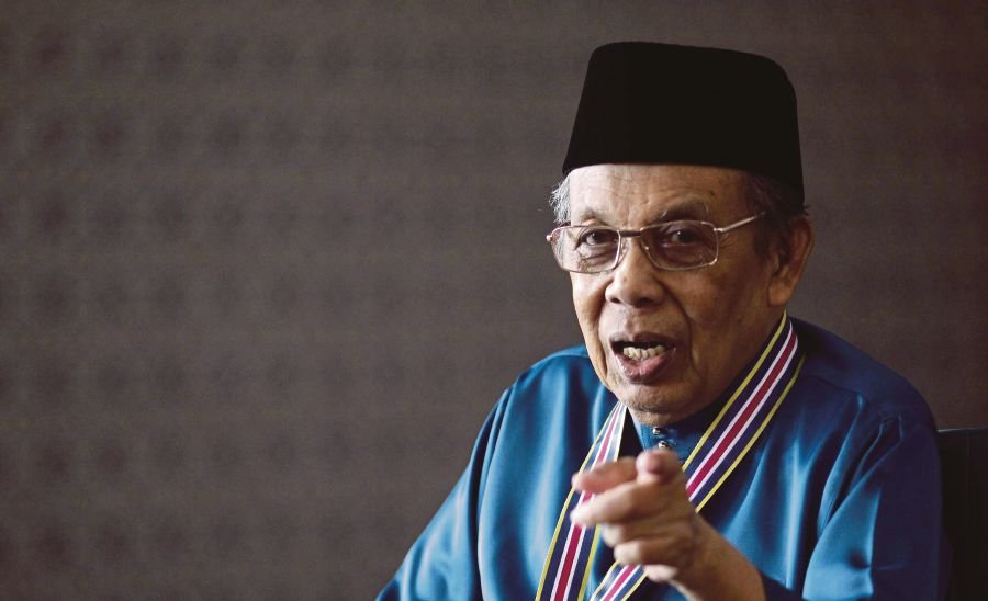 Former Chief Justice Tun Abdul Hamid Mohamad.