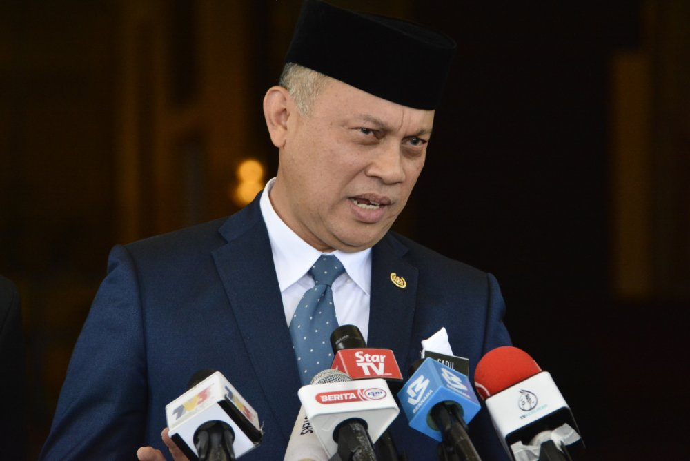 File photo of Comptroller of the Royal Family and Household Ahmad Fadil Shamsuddin.