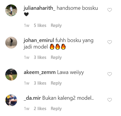 Image from Instagram @ron_kamisan