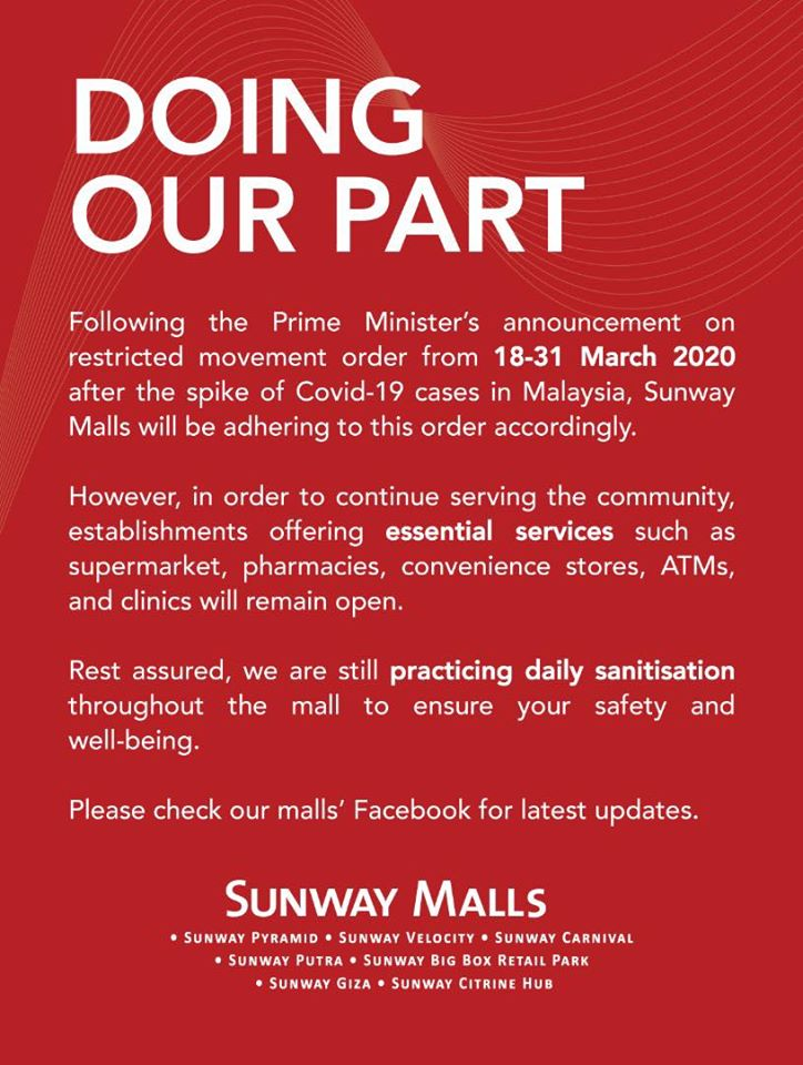 Image from Sunway Putra Mall/Facebook