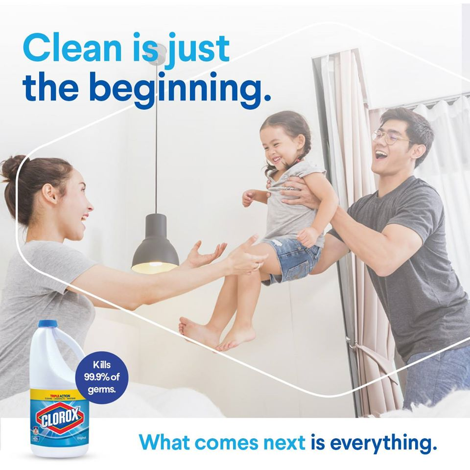 Image from Clorox Malaysia (Facebook)