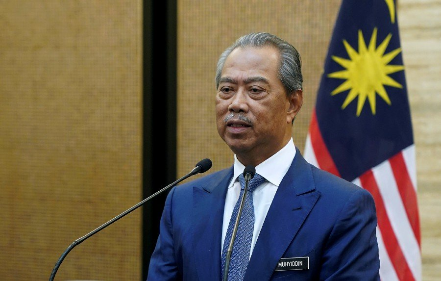 Prime Minister Tan Sri Muhyiddin Yassin made the announcement last night, 18 March.
