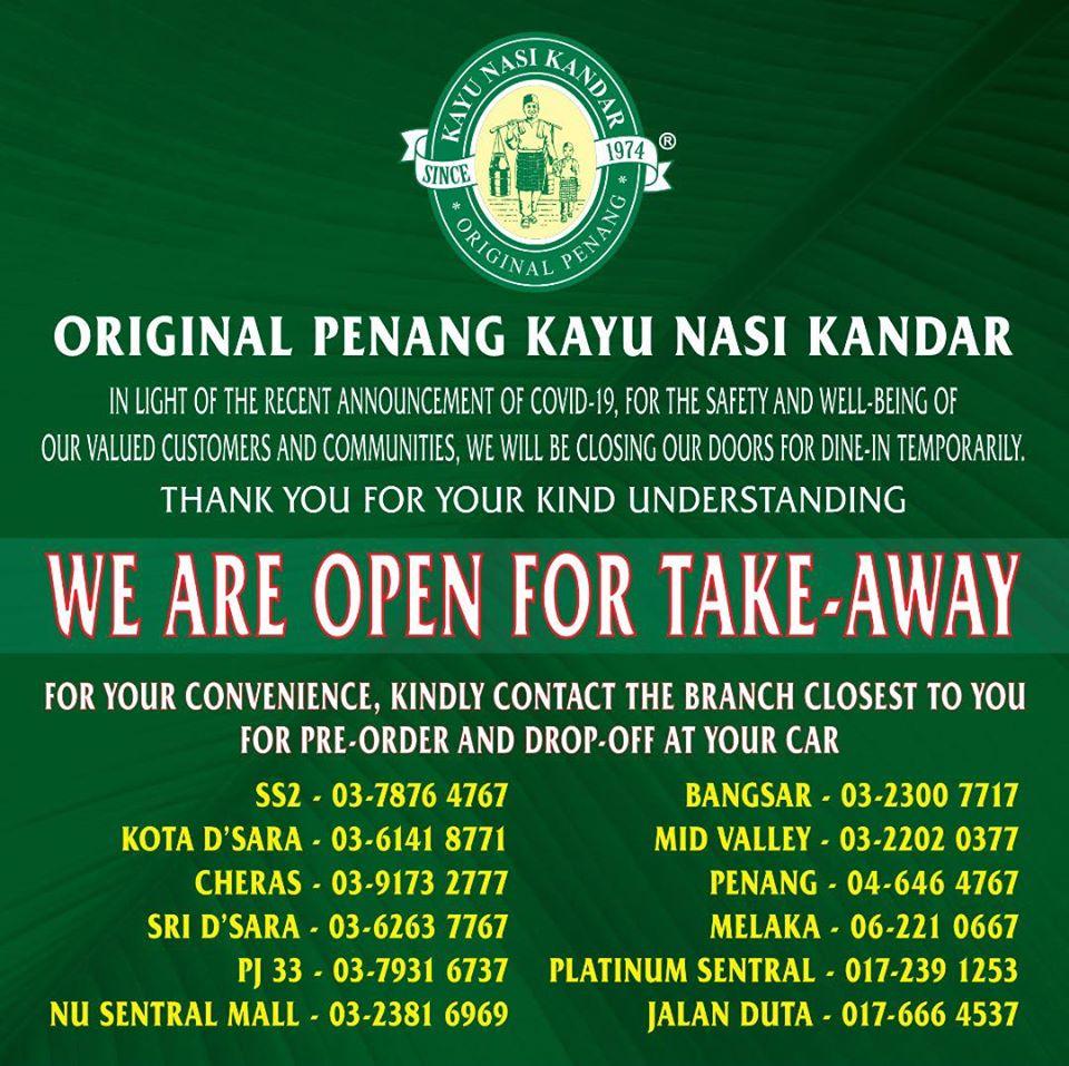 Image from Original Penang Kayu Nasi Kandar/Facebook