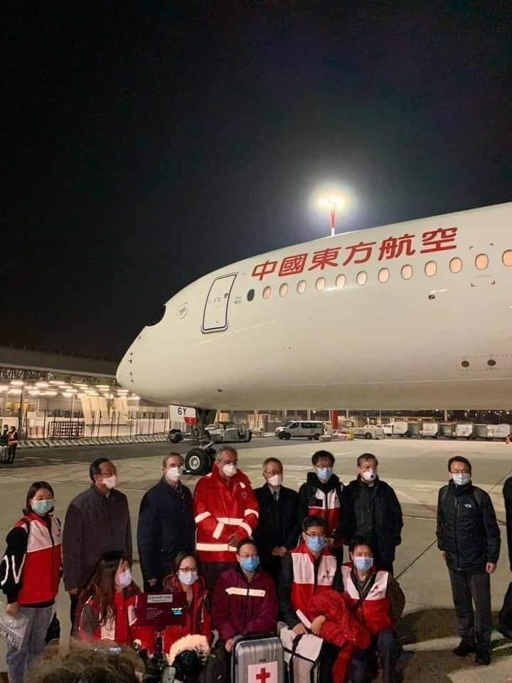 china sends medical supplies to malaysia to help fight