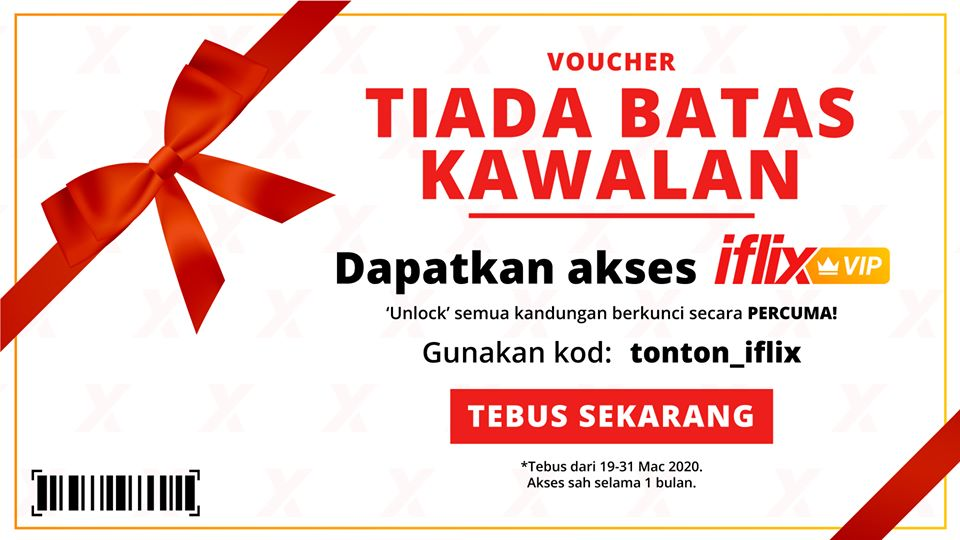 Image from iflix (Facebook)